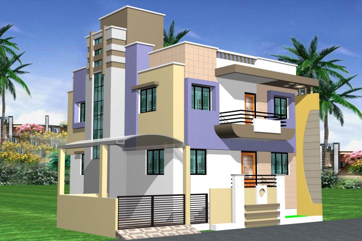 بالصور واجهات منازل , اجمل تصميمات لواجهات منازل جميلة 5926 3