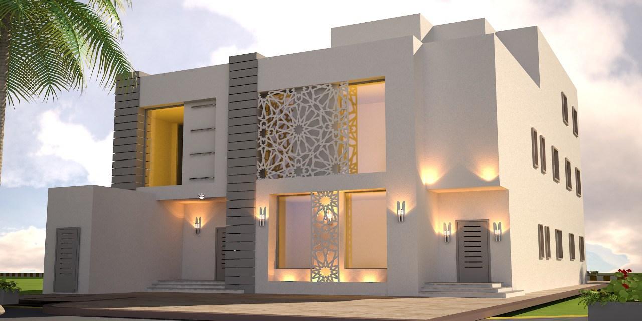 بالصور واجهات منازل , اجمل تصميمات لواجهات منازل جميلة