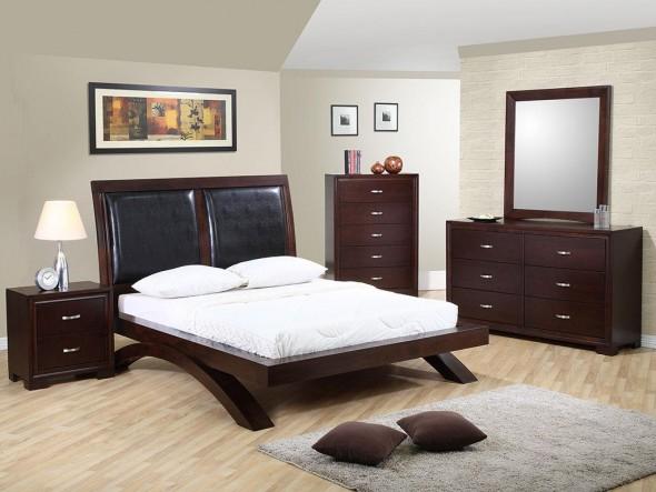 صور غرف نوم خشب , اجمل غرف النوم الخشب