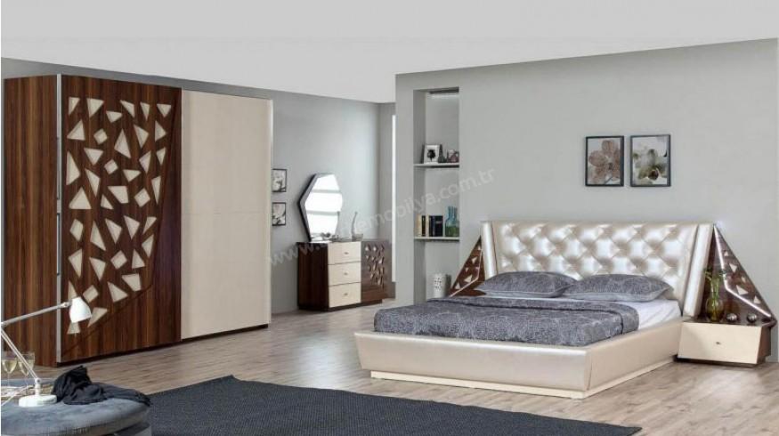 بالصور غرف نوم مودرن ايطالى , جملي بيتك باروع غرفة نوم ايطالية 6345 5