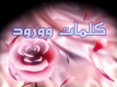 صورة كلمات من ورود , اروع كلمات الورود