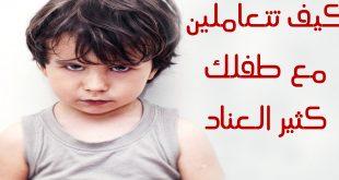 بالصور كيفية التعامل مع الطفل العنيد , ظاهرة العند في الاطفال 3745 2 310x165
