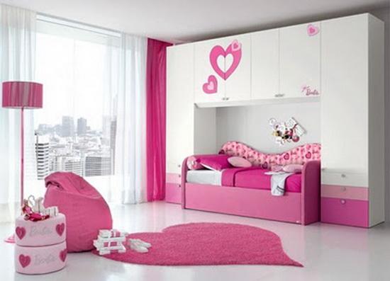 بالصور غرف اطفال بنات , ديكورات اوض فتيات صغيره 1198 2