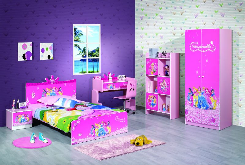 بالصور غرف اطفال بنات , ديكورات اوض فتيات صغيره 1198 4