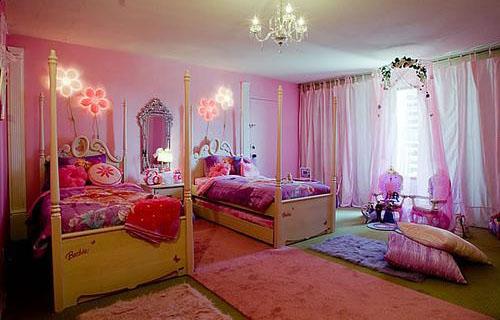بالصور غرف اطفال بنات , ديكورات اوض فتيات صغيره 1198 7