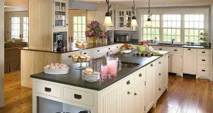 صوره مطابخ امريكية , اجمل تصميمات لمطابخ امركيا المفتوحه