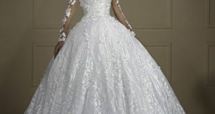 بالصور فساتين عرايس فخمه , افضل واشيك فساتين للعروس 1356 12 310x165