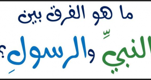 بالصور الفرق بين النبي والرسول , تعرف على معنى النبي ومعنى الرسول 1463 1 310x165