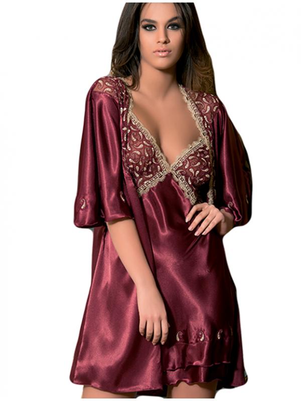بالصور قمصان نوم ستان , اطقم لبس للنوم نسائي ستان 1496