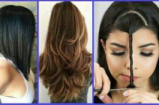صوره كيفية قص الشعر , تعلمى كيف تقصين شعرك بالبيت