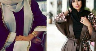 صوره عبايات 2018 , اجدد ثياب حشمه للمراه