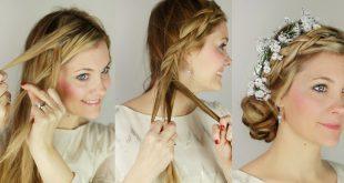 صور تزيين الشعر , اجمل فن لتسريحات شعر المراه
