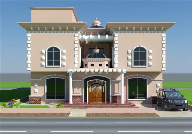 بالصور تصميم منازل , افضل اشكال بيوت معماريه 1663 11