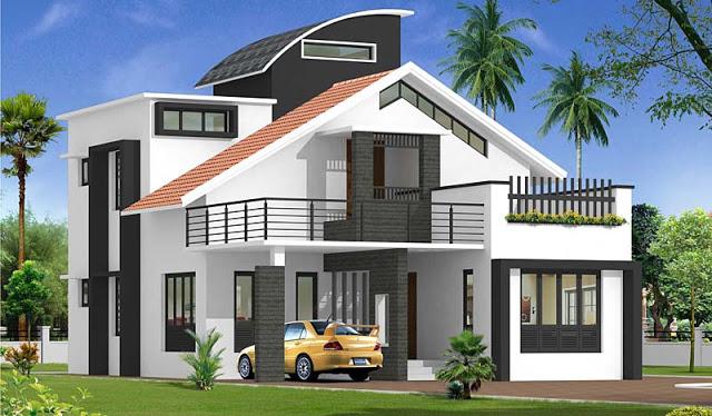 بالصور تصميم منازل , افضل اشكال بيوت معماريه 1663 4