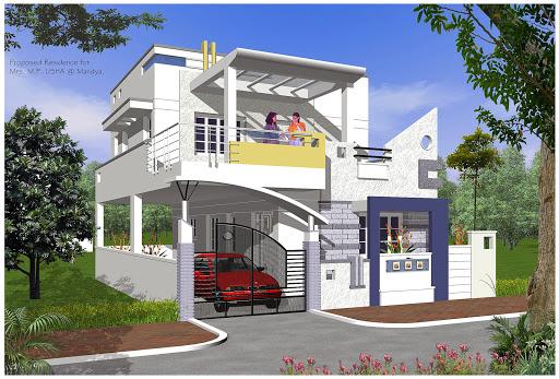 بالصور تصميم منازل , افضل اشكال بيوت معماريه 1663 5