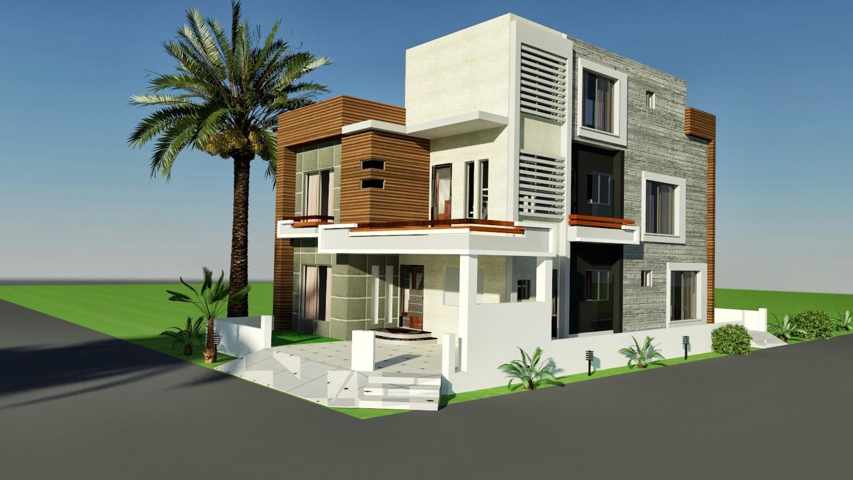 بالصور تصميم منازل , افضل اشكال بيوت معماريه 1663 6
