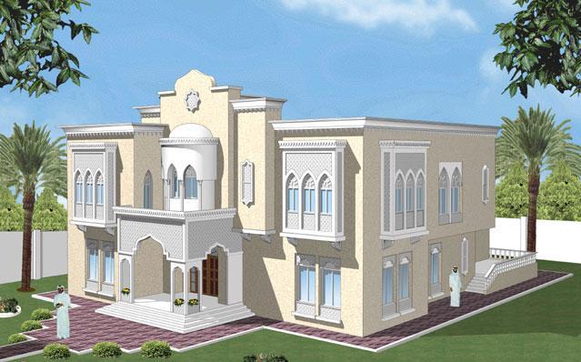 بالصور تصميم منازل , افضل اشكال بيوت معماريه 1663 7