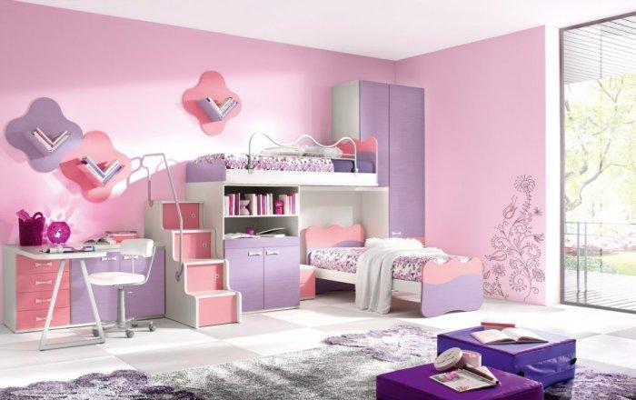 صورة ديكورات غرف نوم اطفال , اجمل ديكور غرف الاطفال