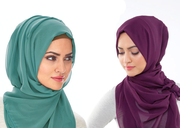 صورة صور لفات حجاب , طرق لف الحجاب