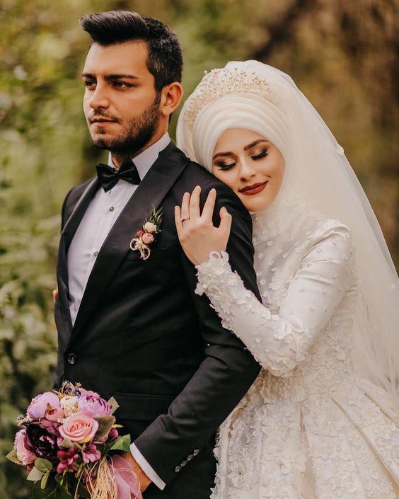صور عروس وعريس احدث صور للعرسان احبك موت