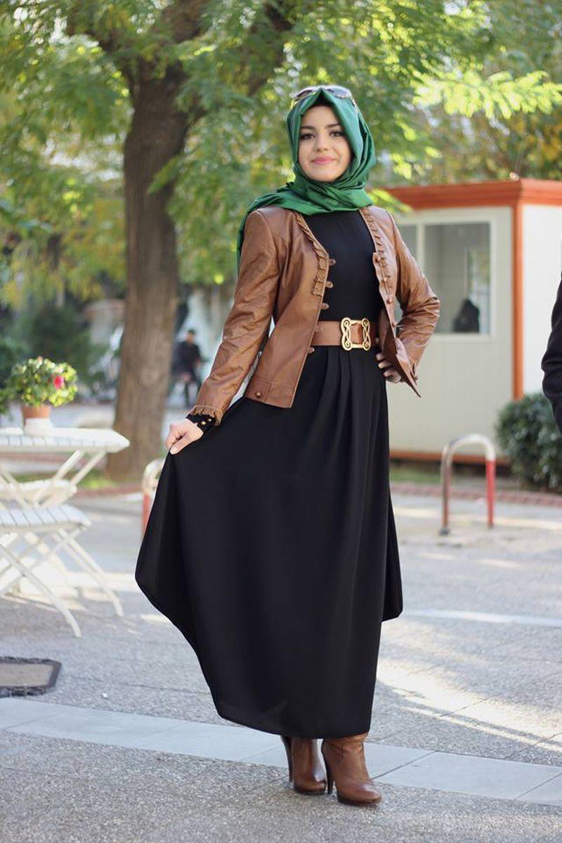 صورة اشيك ملابس محجبات , اجمل واشيك ملابس للمحجبات 2237 4