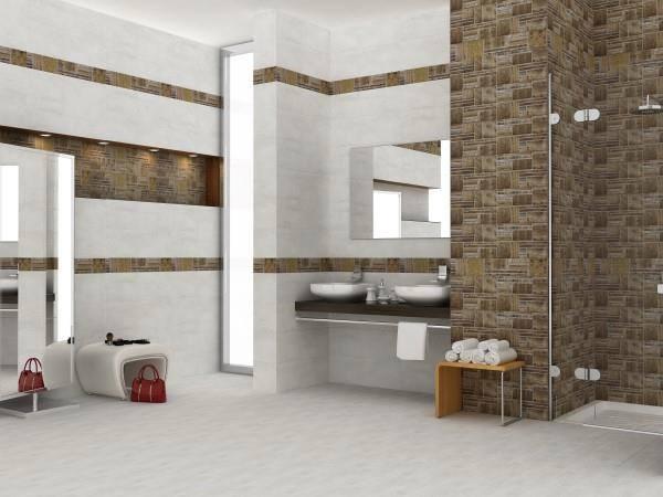 صورة ديكور حمامات سيراميك , اشيك ديكورات الحمام