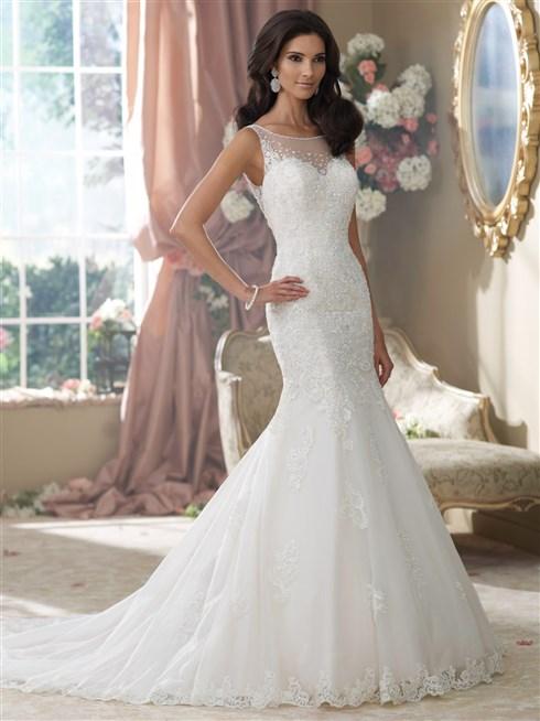بالصور صور فساتين عروس , اجمل واحدث صور لفساتين العروس 2378 11