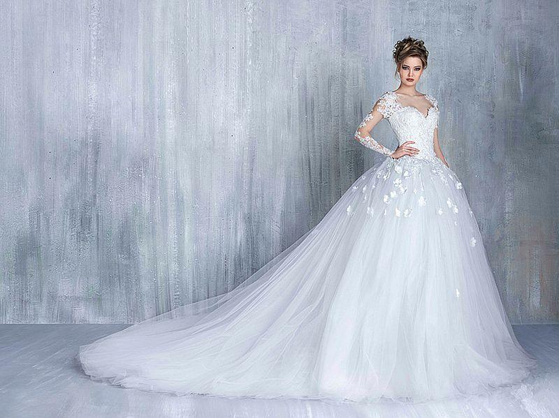 بالصور صور فساتين عروس , اجمل واحدث صور لفساتين العروس 2378 2