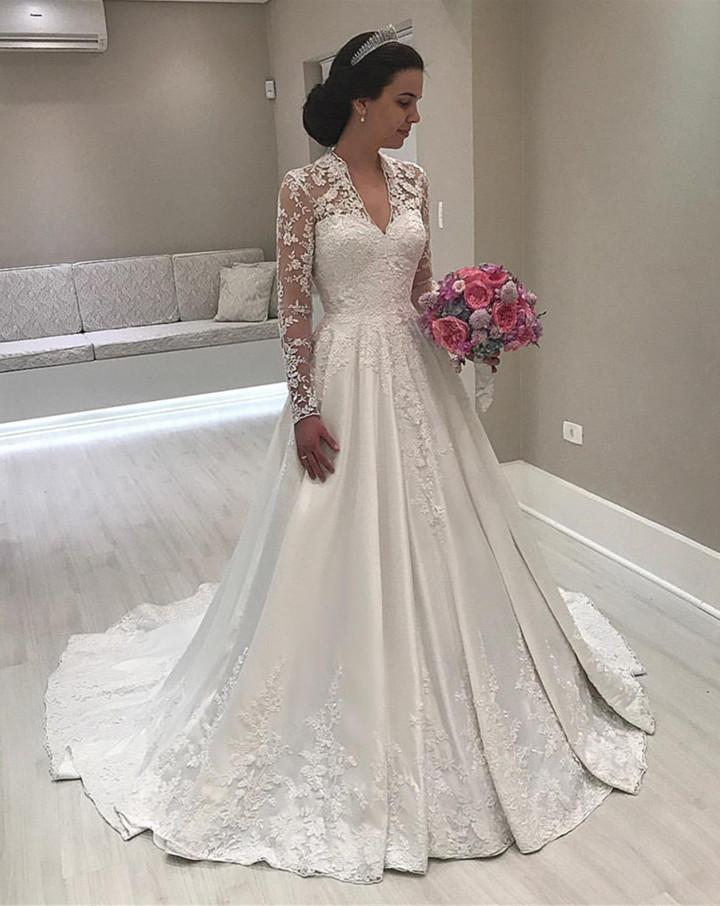 بالصور صور فساتين عروس , اجمل واحدث صور لفساتين العروس 2378 3