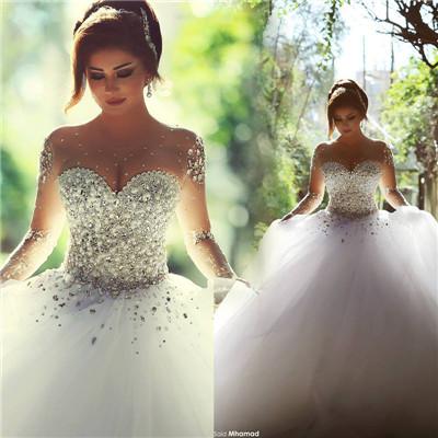 بالصور صور فساتين عروس , اجمل واحدث صور لفساتين العروس 2378 8
