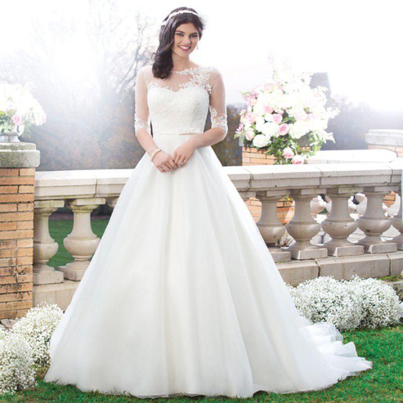 بالصور صور فساتين عروس , اجمل واحدث صور لفساتين العروس 2378 9