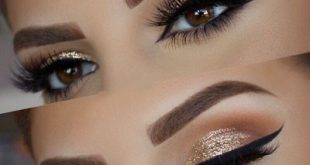 صوره اجمل مكياج عيون , اجمل واحلي مكياج رسمه العين