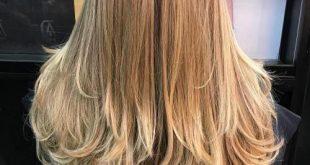 صورة احدث قصات الشعر الطويل , احدث قصات شعر 2019