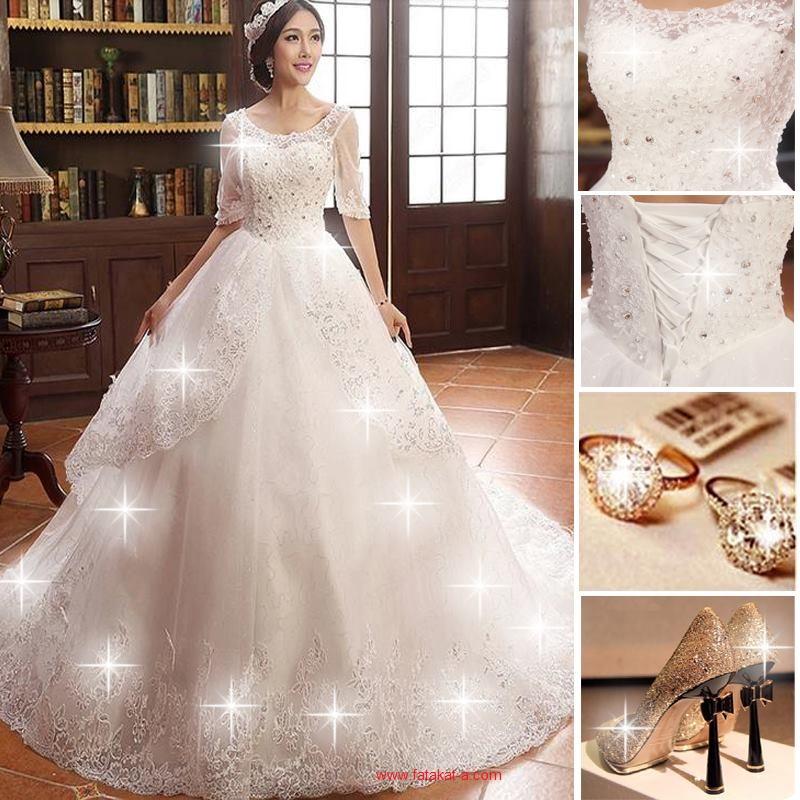 صورة صور عروس , اروع صور موديلات لفساتين العروس