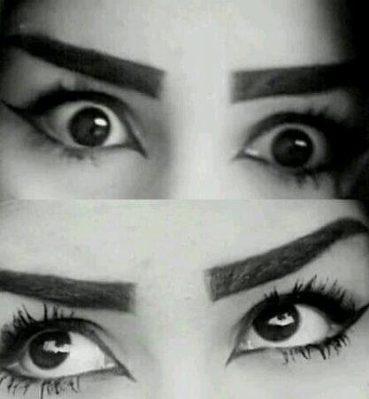 صورة عيون سوداء , مااروع العيون السوداء