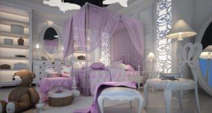 صوره ديكور غرف نوم بنات , اروع التصميمات المخصصة لغرفة نوم البنت