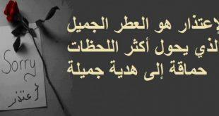 صوره رسالة اعتذار لصديق , بوستات بها اورع العبارات للاسف من صديق