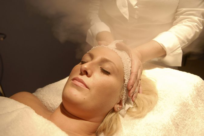 facial-with-steam