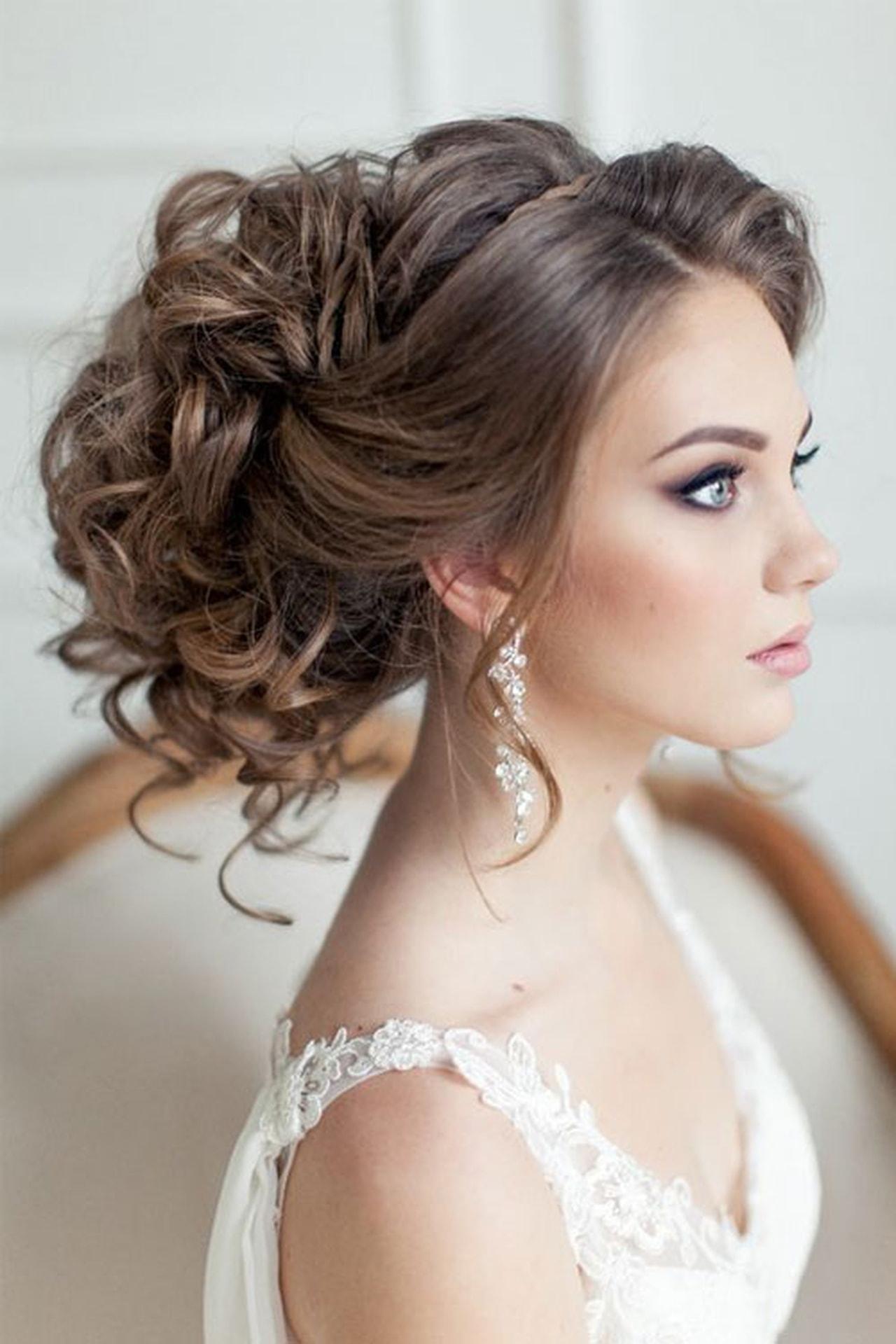 صورة تسريحه عروس , اجمل تسريحة للعروس