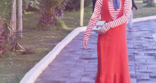 صوره موديلات فساتين للمحجبات , اجمل تشكيلات لفساتين المحجبات