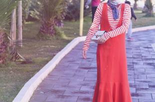 بالصور موديلات فساتين للمحجبات , اجمل تشكيلات لفساتين المحجبات 579 3 310x205
