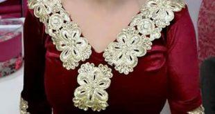صورة قنادر قطيفة للاعراس , البسة قطيفة جميلة للافراح