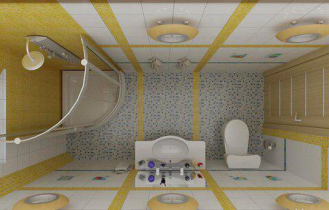 بالصور ديكورات حمامات صغيرة جدا وبسيطة , افكار جميلة للحمامات الصغيرة 690 5
