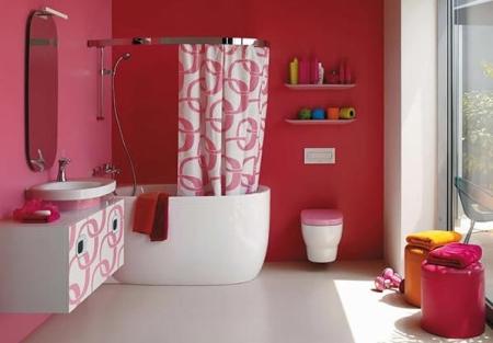 بالصور ديكورات حمامات صغيرة جدا وبسيطة , افكار جميلة للحمامات الصغيرة 690 8