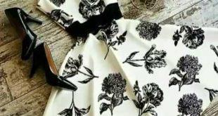 صوره فساتين قصيرة تركية , اجمل الفساتين التركية القصيرة