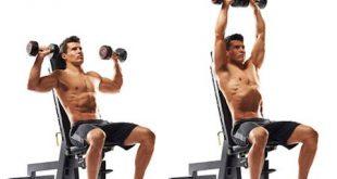 صوره تمارين الكتف , اقوي حركات رياضيه لتقوية عضلات الكتف