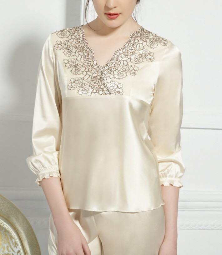 بالصور بيجامات عرايس , اجدد التشكيلات لملابس العرايس 217 8