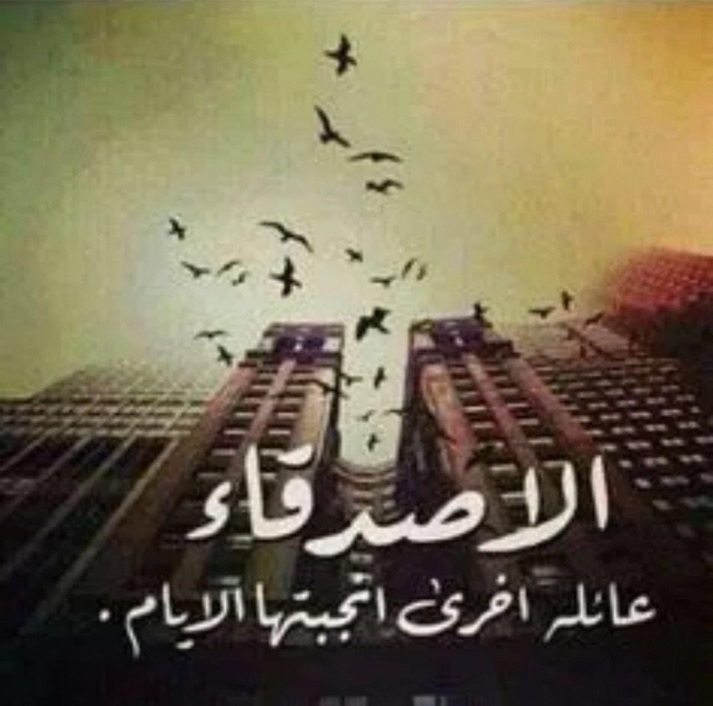 بالصور شعر مدح الصديق , الصداقه و كلمات لها ضجيج للصديق 326 5
