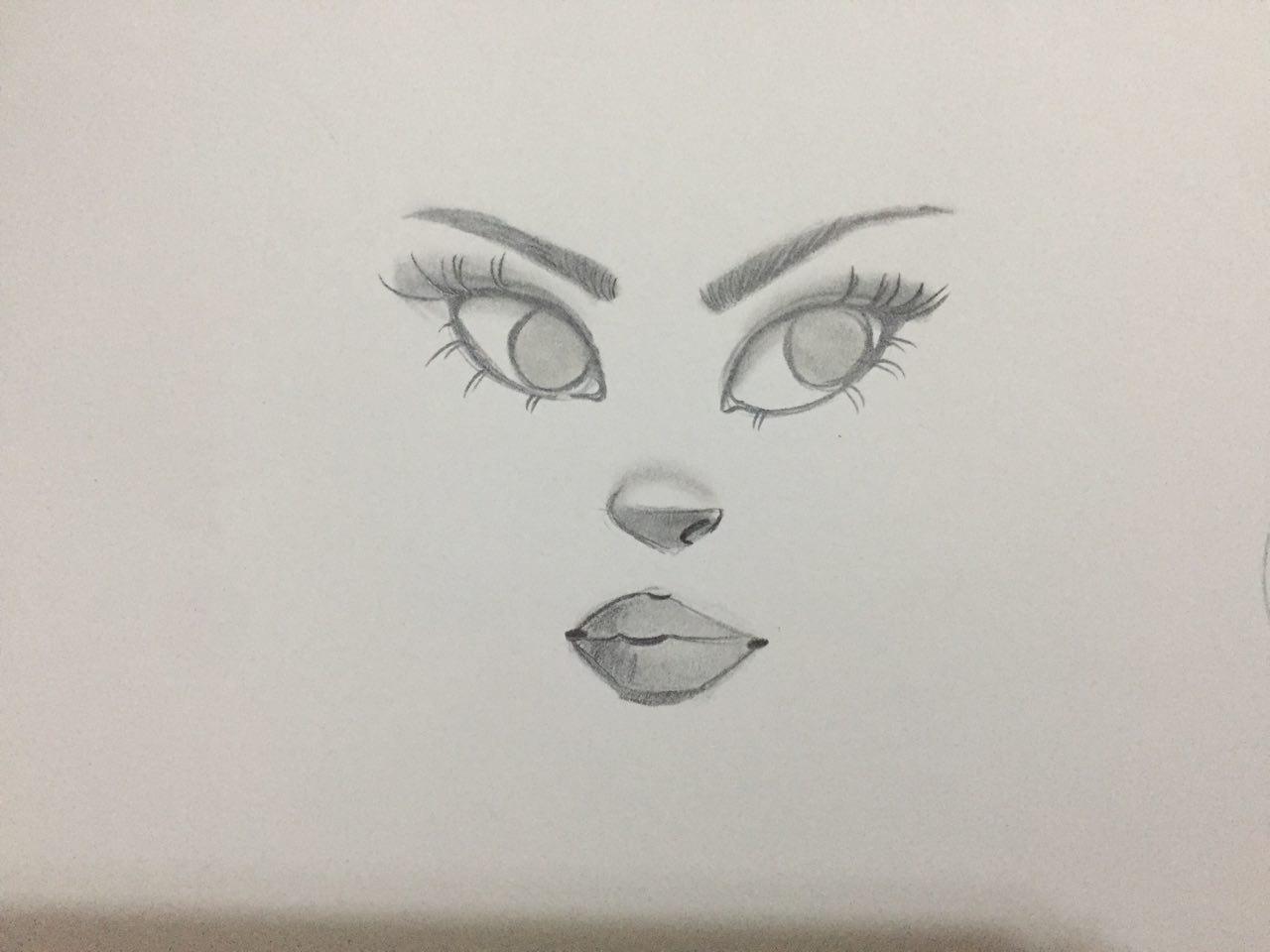 بالصور رسومات سهله وحلوه , رسم جميل وتعليم الرسم بسهوله 343 10