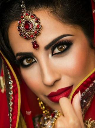 صوره مكياج هندي , اجمل صيحات المكياج الهندي